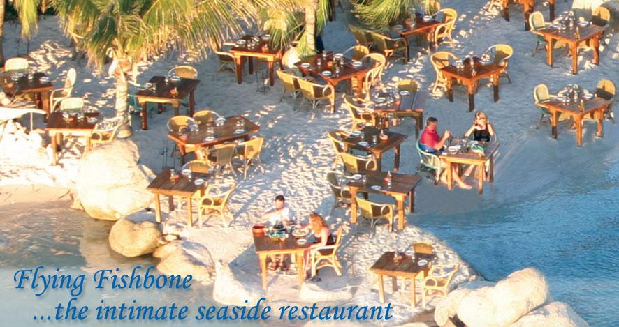 Dinner at the Flying Fishbone Restaurant