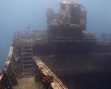 Facinating Jane Sea wreck in Aruba