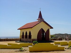 Visit Alto Vista Chapel in Aruba